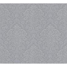 Architects Paper Vliestapete Alpha Tapete mit Ornamenten barock grau metallic 324801 10,05 m x 0,53 m