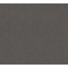 Architects Paper Vliestapete Alpha Tapete Uni schwarz 333745 10,05 m x 0,53 m