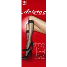 Aristoc Below the Knees 10D Shine Knee Highs 3 Paare nude - OS