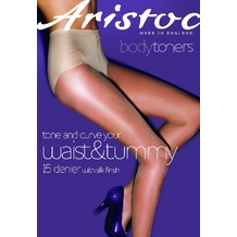 Aristoc Bodytoners High Leg Toner Tights Black - XL