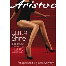 Aristoc Ultra 10D Ultra Shine Control Top Tights Nude S