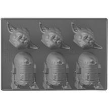 Around the World Star Wars Eiswürfelform Yoda + R2-D2