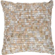 Arte Espina Kissen Finish Pillow 100 Beige / Gold 45 x 45 cm