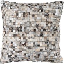 Arte Espina Kissen Finish Pillow 100 Grau / Silber 45 x 45 cm