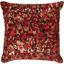 Arte Espina Kissen Finish Pillow 100 Rot / Gold 45 x 45 cm