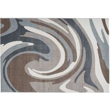Arte Espina Teppich Broadway 100 Braun / Grau 120 x 170 cm