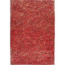 Arte Espina Teppich Finish 100 Rot / Gold 120 x 170 cm