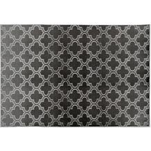 Arte Espina Teppich Monroe 100 Anthrazit 120 x 170 cm