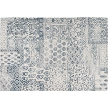 Arte Espina Teppich Yoga 300 Dunkelblau / Elfenbein 120 x 170 cm