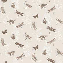 Arthouse Papier Tapete Arthouse Kollektion enchantment Enchanted Wings Copper 10,05 m x 0,53 m