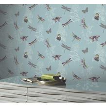 Arthouse Papier Tapete Arthouse Kollektion enchantment Enchanted Wings Teal 10,05 m x 0,53 m
