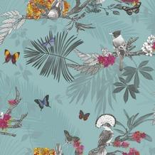 Arthouse Papier Tapete Arthouse Kollektion enchantment Mystical Forest Teal 10,05 m x 0,53 m