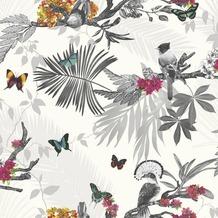 Arthouse Papier Tapete Arthouse Kollektion enchantment Mystical Forest White Multi 10,05 m x 0,53 m