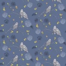 Arthouse Papier Tapete Arthouse Kollektion enchantment Night Out Midnight Blue 10,05 m x 0,53 m