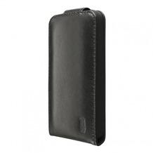 Artwizz SeeJacket Leather Flip für iPhone 5C, black