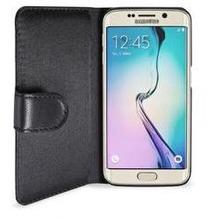Artwizz SeeJacket® Leder für Samsung Galaxy S6 Edge, Schwarz