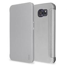 Artwizz SmartJacket® für Samsung Galaxy S6 Edge, Voll Grau
