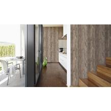 AS Création Mustertapete in Vintage-Holzoptik Decoworld, Tapete, beige, seidengrau, graubeige 10,05 m x 0,53 m