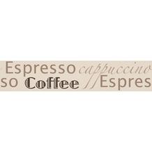 AS Création selbstklebende Bordüre Only Borders 9 braun creme 266231 5,00 m x 0,13 m - Thema Espresso