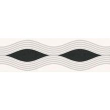 AS Création selbstklebende Bordüre Only Borders 9 grau schwarz weiß 282217 5,00 m x 0,05 m
