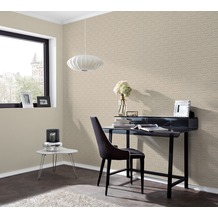 AS Création 3D Mustertapete Simply Decor Tapete beige braun metallic 10,05 m x 0,53 m