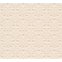 AS Création 3D Mustertapete Simply Decor Tapete beige metallic 329832 10,05 m x 0,53 m