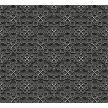 AS Création 3D Mustertapete Simply Decor Tapete metallic schwarz 329831 10,05 m x 0,53 m
