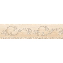 AS Création selbstklebende Bordüre Only Borders 9 beige creme metallic 895813 5,00 m x 0,13 m