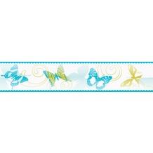 """AS Création selbstklebende Bordüre """"Stick Up"""" 901217 5 m x 0,10 m - Schmetterlinge"""