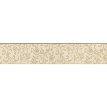 AS Création selbstklebende Bordüre Only Borders 9 beige creme 905529 5,00 m x 0,10 m