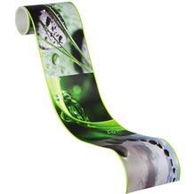 AS Création selbstklebende Bordüre Only Borders 9 braun grün schwarz 905611 5,00 m x 0,10 m