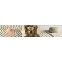 AS Création selbstklebende Bordüre Only Borders 9 beige braun creme 905710 5,00 m x 0,10 m