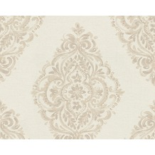 AS Création barocke Mustertapete Around the world Tapete beige braun 10,05 m x 0,53 m