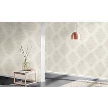 AS Création barocke Mustertapete Around the world Tapete beige grau 10,05 m x 0,53 m