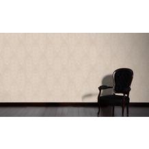 AS Création barocke Mustertapete Belle Epoque Strukturprofiltapete beige metallic 10,05 m x 0,53 m