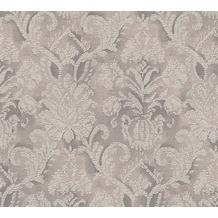 AS Création barocke Mustertapete Belle Epoque Strukturprofiltapete braun grau metallic 338684 10,05 m x 0,53 m