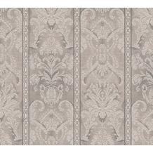 AS Création barocke Mustertapete Belle Epoque Strukturprofiltapete braun metallic 10,05 m x 0,53 m