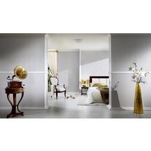 AS Création barocke Mustertapete Belle Epoque Strukturprofiltapete weiß 10,05 m x 0,53 m