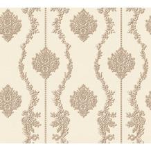 AS Création barocke Mustertapete Château 5 Vliestapete beige braun metallic 344935 10,05 m x 0,53 m