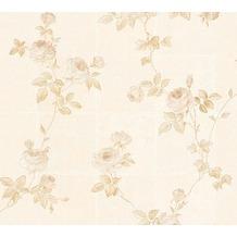 AS Création barocke Mustertapete Château 5 Vliestapete beige creme metallic 345012 10,05 m x 0,53 m