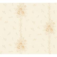 AS Création barocke Mustertapete Château 5 Vliestapete beige metallic 345004 10,05 m x 0,53 m