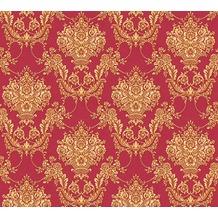 AS Création barocke Mustertapete Château 5 Vliestapete gelb metallic rot 344922 10,05 m x 0,53 m