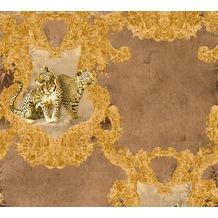 AS Création barocke Mustertapete Hermitage 10 beige braun 335433 10,05 m x 0,53 m