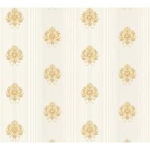 AS Création barocke Mustertapete Hermitage 10 beige creme metallic 330844