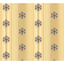 AS Création barocke Mustertapete Hermitage 10 braun creme metallic 330841 10,05 m x 0,53 m