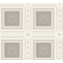 AS Création barocke Mustertapete Hermitage 10 creme grau 335415 10,05 m x 0,53 m