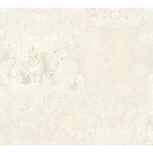 AS Création barocke Mustertapete Hermitage 10 creme grau 335434 10,05 m x 0,53 m