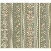 AS Création barocke Mustertapete Hermitage 10 gelb grün 335474 10,05 m x 0,53 m