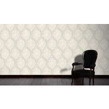AS Création barocke Mustertapete Soraya Tapete beige metallic 10,05 m x 0,53 m