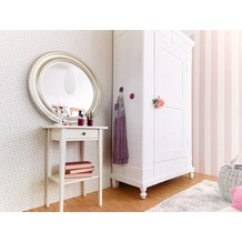 AS Création Blockstreifentapete Fleuri Pastel, Tapete, creme, rosa 10,05 m x 0,53 m